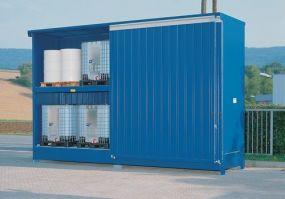 Stalen milieu-container, model MC3-56-02