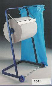 Vloerstandaard dispenser voor maxi-papierrollen