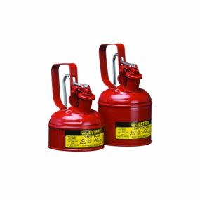 Justrite veiligheidskannen Type I - 0,5 liter (Trekkerhandvat)