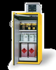 Brandwerende veiligheidskast S-LINE Classic 90 minuten met 1 draaideur 60 x 61,5 x 130cm