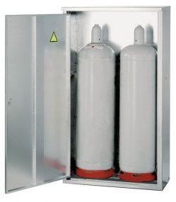 Enkelwandig gesloten opstelkast voor gasflessen