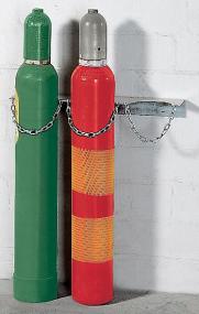 Gasflessenhouders voor 1 tot 3 gasflessen tot 14cm
