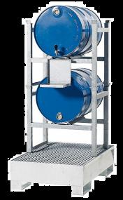 Aftapstelling voor 60 en 200 liter vaten