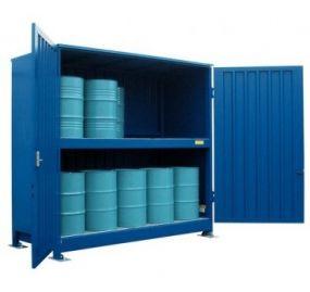 Stalen milieu-container, model MC1-31-02