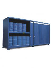 Stalen milieu-container, model MC2-62-02