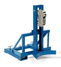 Automatische heftruck vatengrijper - voor 1 x 200 ltr vat