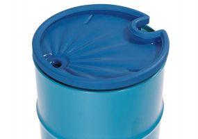 Asecos vatentrechter 5ltr met zeef voor stalen vat van 200 liter