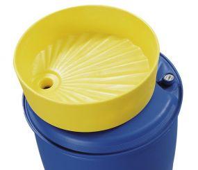 Asecos polyethylene vatentrechter voor 60 & 200 liter vat