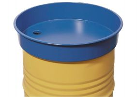 Asecos stalen vatentrechter voor stalen vat van 200 liter