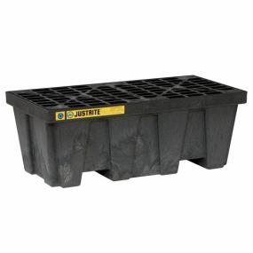 2-Drum kunststof lekbak (250ltr) - opvangbak - 125x64x46cm