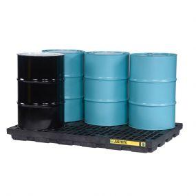6-Drum kunststof lekbak (276ltr) - opvangbak - 185x125x14cm