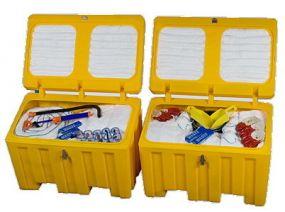 OPA90 Oil Spill Kit 7 barrel, 1100 ltr inclusief accessoires (2 kisten)