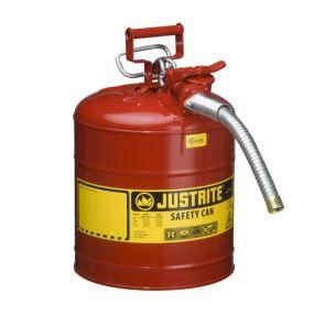 Justrite veiligheidskannen Type II AccuFlow™ - 7,5 liter