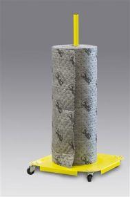 Vrijstaande verticale SPC dispenser voor absorptierol tot 100 cm breed