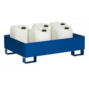 Staal gelakte lekbak (210ltr) - zonder rooster - 120x80x35cm