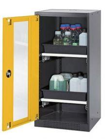 Chemicaliënkast, model CS.110.054 met draaideur