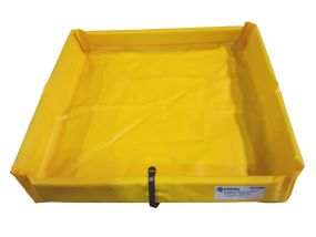 Enpac opvouwbare lekbak (223ltr) - 120x120x15cm