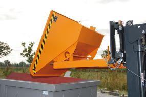 Kantelbak / Kiepcontainer (Type EXPO) 1,70m3 - 172x157x109cm
