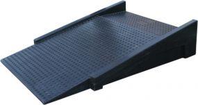 Kunststof oprit / oprijplaat voor werkvloer - 1000 x 750 x 150mm