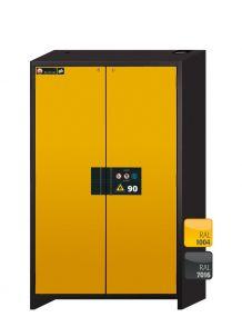 Brandwerende veiligheidskast Q-LINE Classic 90 minuten met 2 draaideuren 120 x 61,5 x 195,5cm