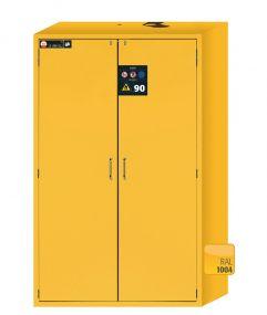 S90.196.120 Asecos brandwerende veiligheidskast S-LINE, 90 minuten met 2 draaideuren 120 x 61,5 x 197cm