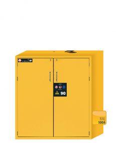 Brandwerende veiligheidskast S-LINE Classic 90 minuten met 2 draaideuren 120 x 61,5 x 130cm
