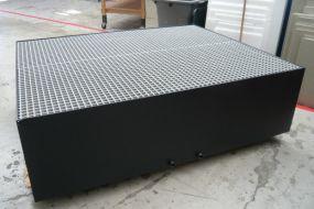 Kunststof lekbak, HDPE op maat gemaakt
