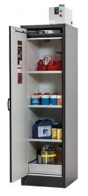 Brandwerende veiligheidskast Q-LINE basic 30 minuten met, 1 draaideur, afmetingen 56,4 x 62 x 194,7cm