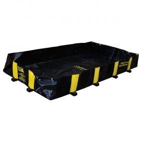 Justrite opvouwbare lekbak (890ltr) - 120x240x30cm