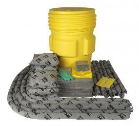 Alle vloeistoffen spill kit 310 ltr in waterdicht UN vat