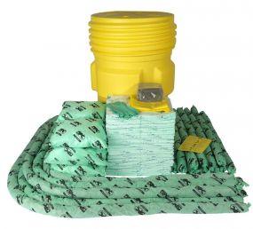 Chemicalien spill kit 310 ltr in waterdichte UN drum