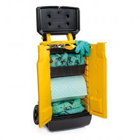 Chemicalien spill kit 70 ltr Mobiele Response Cart