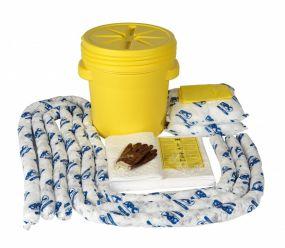 sko-20 Olie spill kit 60 ltr verpakt in UN goedgekeurd kunststof vat