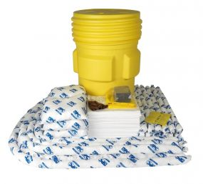 Olie spill kit 310 ltr in waterdichte UN drum