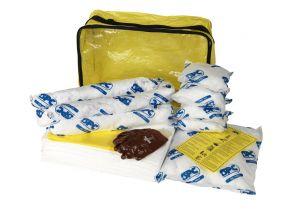 ADR spill kit voor olie producten 43 of 63 ltr, voor op de heftruck of vrachtwagen