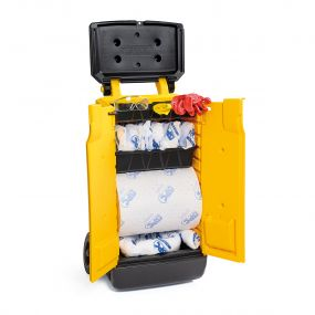 Olie spill kit 70 ltr Mobiele Response Cart