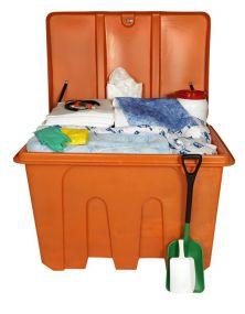 OPA90 Oil Spill Kit 7 barrel, 1100 ltr inclusief accessoires (1 kist)