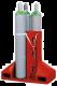 Gasflessenpallet van polyethyleen (PE)